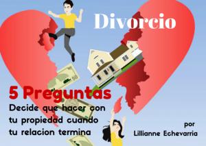 Divorcio-Cinco Preguntas